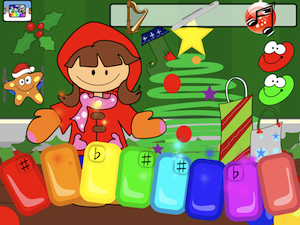 Play christmas carols listen to beautiful music or make your own